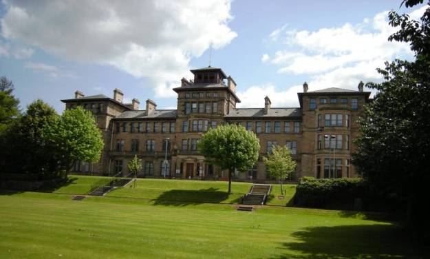 Craiglockhart War Hospital, Main building and grounds
