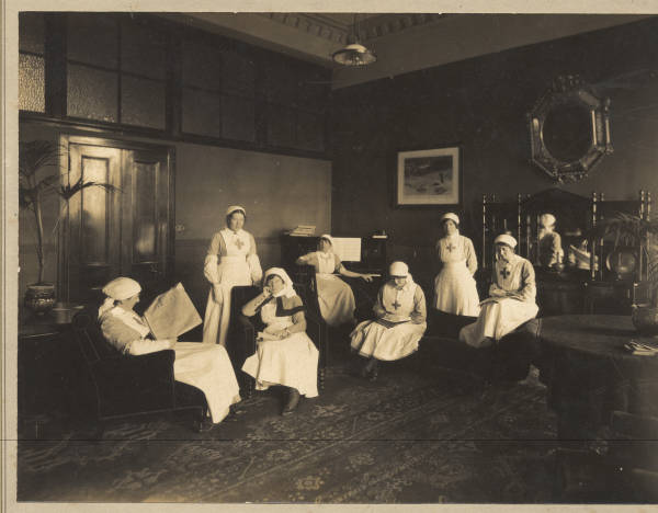 Nurses at Craiglockhart