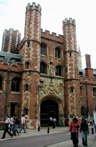 St John's College gate